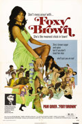 "Movie Posters:Blaxploitation, Foxy Brown (AIP, 1974). One Sheet (27"" X 41""). Pam Grier created her ultimate on-screen persona as Foxy Brown in this classi..."