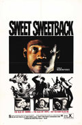 "Movie Posters:Action, Sweet Sweetback's Baadasssss Song (Cinemation Industries, 1971). One Sheet (27"" X 41""). Here it is! The poster for the film ..."