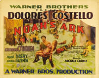 """Noah's Ark (Warner Brothers, 1928). Half Sheet (22"""" X 28""""). Directed by a young Michael Curtiz, this Warner Br..."""