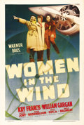 "Movie Posters:Drama, Women in the Wind (Warner Brothers, 1939). One Sheet (27"" X 41"").Kay Francis stars in the drama of a financially strapped a..."