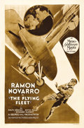 "Movie Posters:Adventure, The Flying Fleet (MGM, 1929). One Sheet (27"" X 41""). This was oneof famed Navy Commander Frank ""Spig"" Wead's first script-w..."