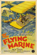 "Movie Posters:Drama, The Flying Marine (Columbia, 1929). One Sheet (27"" X 41"") Style B.Actor Ben Lyon was a second-tier actor for many years, an..."
