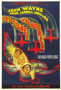 """Movie Posters:War, Flying Tigers (Republic, 1942). Argentinian One Sheet (29"""" X 43"""").John Wayne's first war film was a tribute to the voluntee..."""
