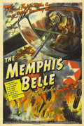 "Movie Posters:War, The Memphis Belle (Paramount, 1944). One Sheet (27"" X 41""). Filmedin color, ""The Memphis Belle"" has long been held up as a ..."