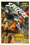 "Movie Posters:War, Spitfire (RKO, 1942). One Sheet (27"" X 41"") Style A. Originallyreleased in Great Britain as ""The First of the Few,"" this fi..."