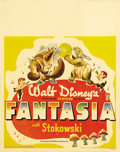 "Movie Posters:Animated, Fantasia (RKO, 1940). Jumbo Window Card (22"" X 28""). Walt Disney'sanimated masterpiece was developed from a short-subject c..."