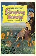 "Movie Posters:Animated, Sleeping Beauty (Buena Vista, 1959). One Sheet (27"" X 41"") Style B.This style one sheet for Walt Disney's animated classic ..."