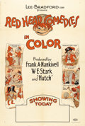 "Movie Posters:Animated, Red Head Comedies Stock Poster (Lee-Bradford, 1923). One Sheet (27""X 41""). Frank Ninkivell and W.E. Stark were animators du..."