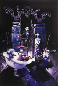 "Movie Posters:Fantasy, The Nightmare Before Christmas (Touchstone, 1993). AlternateLenticular One Sheet (27"" X 41""). As if the advance lenticular ..."