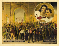 """The Phantom of the Opera (Universal, 1925). Lobby Card (11"""" X 14""""). Living in catacombs under the Opera House..."""