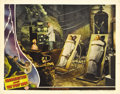 """Movie Posters:Horror, Frankenstein Meets the Wolfman (Universal, 1943). Lobby Card (11"""" X14""""). Patrick Knowles operates the laboratory of Dr. Fra..."""
