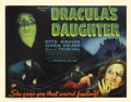 "Movie Posters:Horror, Dracula's Daughter (Universal, 1936). Title Lobby Card (11"" X 14"").This sequel to ""Dracula"" is based on a short story by Br..."