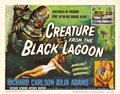 "Movie Posters:Horror, Creature From the Black Lagoon (Universal International, 1954).Title Lobby Card (11"" X 14""). Universal's last great creatur..."