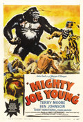"Movie Posters:Adventure, Mighty Joe Young (RKO, 1949). One Sheet (27"" X 41"") Style A. JohnFord and Merian C. Cooper brought the amazing talents of s..."