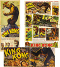 Movie Posters:Horror, King Kong (RKO, 1933). Pressbook (Multiple Pages). Merian C.Cooper's film captivated the world when it was first seen on th...