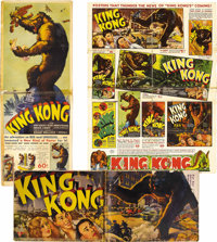 King Kong (RKO, 1933). Pressbook (Multiple Pages). Merian C. Cooper's film captivated the world when it was first seen o...