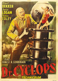 """Movie Posters:Horror, Dr. Cyclops (Paramount, 1940). Italian 2 - Folio (39"""" X 55""""). Whenfour explorers in Peru discover the insane experiments be..."""