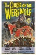 "Movie Posters:Horror, Curse of the Werewolf (Universal, 1961). One Sheet (27"" X 41""). When Hammer Pictures decided to remake all of the original U..."