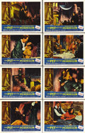 """Movie Posters:Horror, The Pit and the Pendulum (American International, 1961). Lobby Card Set of 8 (11"""" X 14""""). Vincent Price stars in this motion... (Total: 8 Items)"""