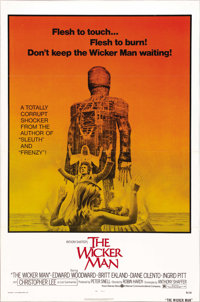 "The Wicker Man (National General, 1973). One Sheet (27"" X 41""). This film is a cult masterpiece, adapted from..."