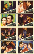 "Movie Posters:Drama, Double Door (Paramount, 1934). Lobby Card Set of 8 (11"" X 14"").Gorgeous set of near mint cards for this Paramount melodrama...(Total: 8 Items)"