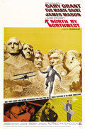 "Movie Posters:Hitchcock, North by Northwest (MGM, R-1966). One Sheet (27"" X 41""). Cary Grantplays a middle-aged advertising executive who's mistaken..."