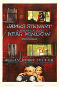 "Movie Posters:Mystery, Rear Window (Paramount, 1954). One Sheet (27"" X 41""). One of AlfredHitchcock's best films takes the subject of voyeurism to..."
