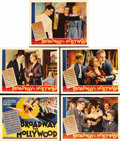 "Movie Posters:Musical, Broadway to Hollywood (MGM, 1933). Title Lobby Card and Lobby Cards (4) (11"" X 14""). This film follows a vaudeville family t... (Total: 5 Items)"