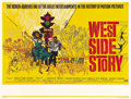 "Movie Posters:Musical, West Side Story (United Artists, 1961). British Quad (30"" X 40"")Style A. Robert Wise and Jerome Robbins directed this updat..."