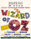 "Movie Posters:Musical, The Wizard of Oz (MGM, 1939). Jumbo Window Card (22"" X 28""). Timehas been powerless to erase the enduring magic of this won..."