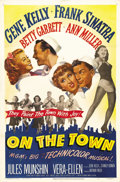 """Movie Posters:Musical, On the Town (MGM, 1949). One Sheet (27"""" X 41""""). Gene Kelly andFrank Sinatra co-star with Vera-Ellen and Ann Miller in one o..."""