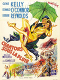 """Movie Posters:Musical, Singin' in the Rain (MGM, 1952). French Grande (47"""" X 63""""). When the accolades rain, they pour, and this Gene Kelly vehicle ..."""