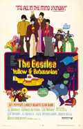 "Movie Posters:Animated, Yellow Submarine (United Artists, 1968). One Sheet (27"" X 41""). TheBeatles take on the evil blue meanies to save the people..."
