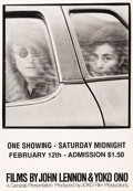 "Movie Posters:Documentary, Films by John Lennon and Yoko Ono (John Lennon and Yoko Ono, 1972). One Sheet (27"" X 39""). This poster represents a compilat..."