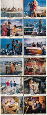 "Girls! Girls! Girls! (Paramount, 1962). Color Still Set of 12 (8"" X 10""). Elvis Presley plays a Hawaiian fishe..."