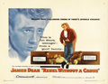 "Movie Posters:Drama, Rebel Without a Cause (Warner Brothers, 1955). Half Sheet (22"" X28""). The title alone summed up a generation of youth witho..."