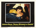 """Movie Posters:Drama, Rebel Without a Cause (Warner Brothers, 1955). Lobby Card (11"""" X14""""). This is card #5 from the original set of eight, consi..."""