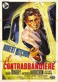 "Movie Posters:Crime, Thunder Road (United Artists, 1958). Italian 2 - Folio (39"" X 55"").Robert Mitchum wrote and stars in this film about moonsh..."