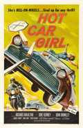 "Movie Posters:Cult Classic, Hot Car Girl (Universal, 1958). One Sheet (27"" X 41""). Here it is!Quite simply, the best ""Bad Girl"" juvenile delinquent hot..."