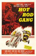 "Movie Posters:Cult Classic, Hot Rod Gang (American International, 1958). One Sheet (27"" X 41"").Gene Vincent was an overnight hit with the release of ""B..."