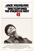 "Movie Posters:Drama, One Flew Over the Cuckoo's Nest (United Artists, 1975). One Sheet (27"" X 41""). Jack Nicholson had already carved out a cinem..."