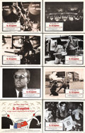 "Movie Posters:Comedy, Dr. Strangelove or: How I Learned to Stop Worrying and Love theBomb (Columbia, 1964). Lobby Card Set of 8 (11"" X 14""). This...(Total: 8 Items)"
