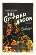 "Movie Posters:Western, The Covered Wagon (Paramount, 1923). One Sheet (27"" X 41"") Style A. Director James Cruze presented audiences with one of the..."