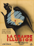 "Movie Posters:War, La Grande Illusion (R.A.C., R-1946). French Petite (23.5"" X 31.5"").Almost seventy years after it was made, ""La Grande Illus..."