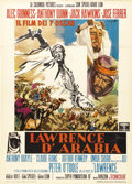 "Movie Posters:Academy Award Winner, Lawrence of Arabia (Columbia, 1962). Italian 2 - Folio (39"" X 55"").Director David Lean was a master storyteller of the grea..."