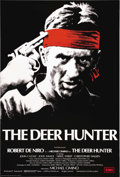 "Movie Posters:War, The Deer Hunter (Universal, 1978). British One Sheet (27"" X 40""). Overseas, the Academy Award winning film starring Meryl St..."