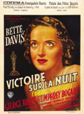 "Movie Posters:Drama, Dark Victory (Warner Brothers, 1939). Pre-War Belgian (24.5"" X33.5""). Bette Davis earned an Oscar nomination for her role i..."