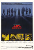 "Movie Posters:Western, The Wild Bunch (Warner Brothers, 1969). One Sheet (27"" X 41"").William Holden leads a band of outlaws, including Ernest Borg..."