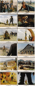 "Movie Posters:Western, Once Upon a Time in the West (Paramount, 1969). Color Still Set of 12 (8"" X 10""). Legendary Spaghetti Western director Sergi... (Total: 12 Items)"