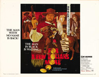 """For a Few Dollars More (United Artists, 1967). Half Sheet (22"""" X 28""""). This, the second in Sergio Leone's &quo..."""